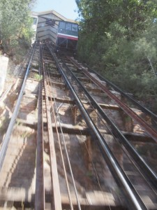 Ascensor El Peral-- not for the faint of heart or fearful of heights