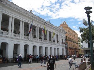 Presidential Palace-- now open to the people (and tourists) of Ecuador