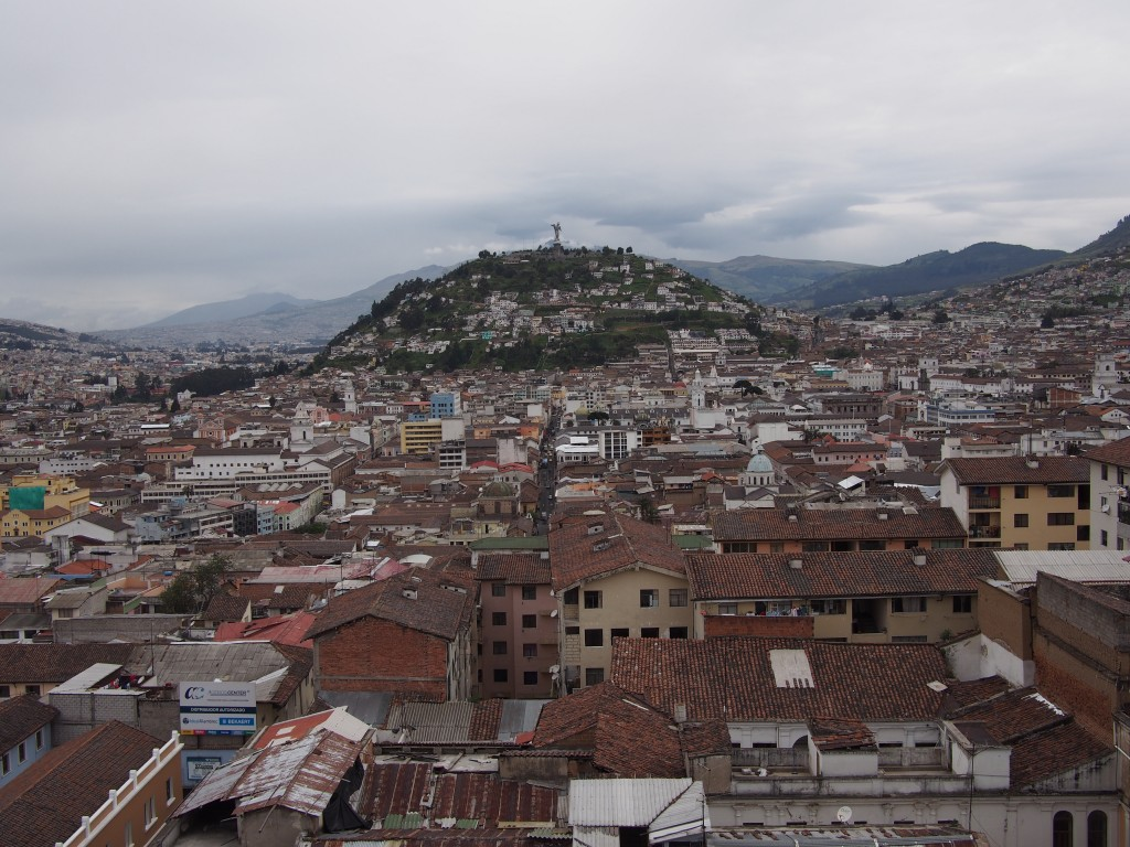 Quito from the Basilica