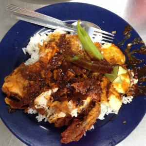 Nasi Kandar from Line Clear: Long on taste, if short on photo quality