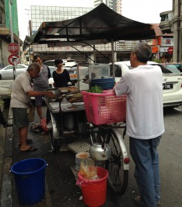 The famous Siam Road char kuey teow slinger