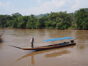 Our trusty Kok riverboat